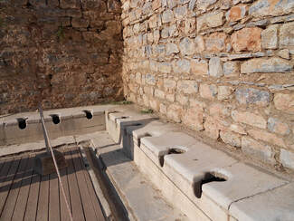 guide to ancient ephesus latrines
