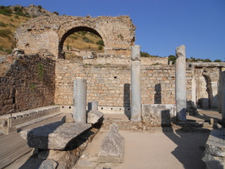 latrines in ancient ephesus